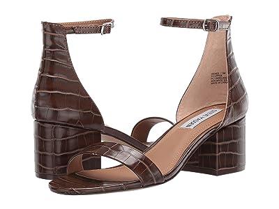 Steve Madden Irenee Sandal (Brown Croco) Women