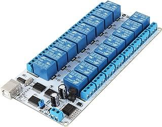 SainSmart 16-Channel 9-36V USB Relay Module