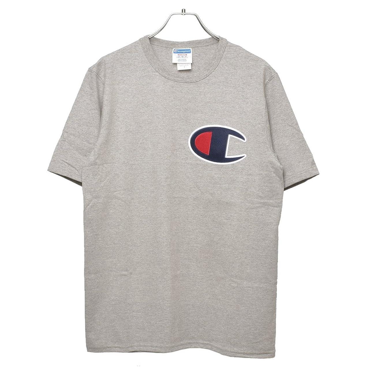 オンスフラグラント同じ(チャンピオン)Champion Tシャツ ヘリテージ Tシャツ GT19 YO6820 メンズ Tシャツ ロゴ 02.オックスフォードグレー M [並行輸入品]