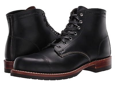 Wolverine Heritage 1000 Mile Cap-Toe Boot (Black) Men