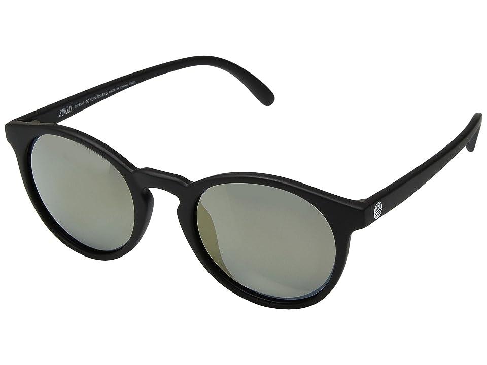 Sunski Dipsea (Black/Gold) Sport Sunglasses