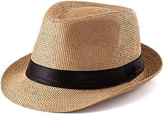 100% Wool Fedora Hat Mens Fedora Hats for Men Trilby Hat Straw Sun Hat Panama Hat