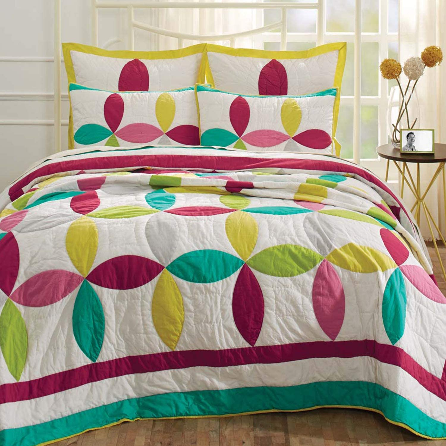VHC Brands Everly Geometric Cotton Bedding Bohemian P Max 83% OFF favorite Pre-Washed