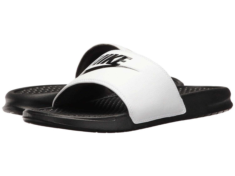 (ナイキ) NIKE メンズサンダル?靴 Benassi JDI Slide White/Black/Black 13 (31cm) D - Medium