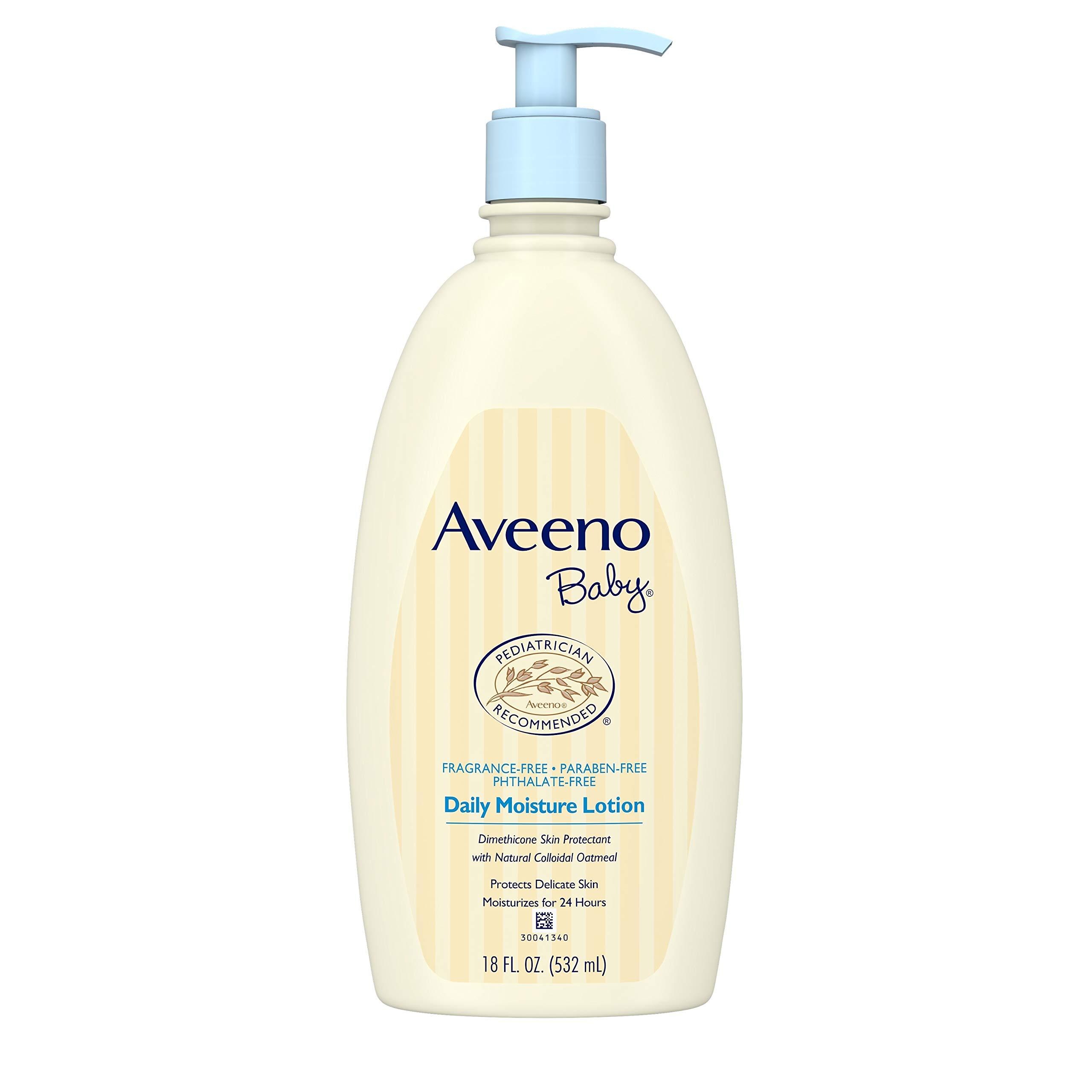 Aveeno艾维诺  婴儿保湿润肤乳液    18 液体盎司  532ml