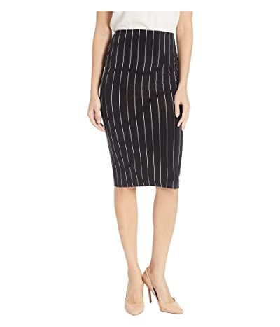 KAMALIKULTURE by Norma Kamali Tube Skirt (NK Black Stripe) Women