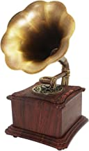 $275 » CHUXJ Vintage Retro Speaker Gramophone Record Player Radio Stereo Sound Box Mini Wireless Speaker Big Horn Gramophone