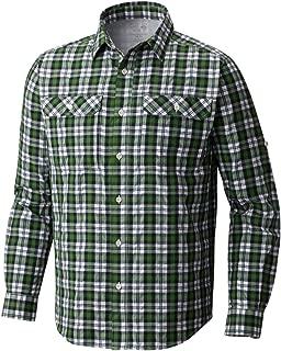 Mountain Hardwear Men's Canyon AC Long Sleeve Shirt, Boreal Green, S