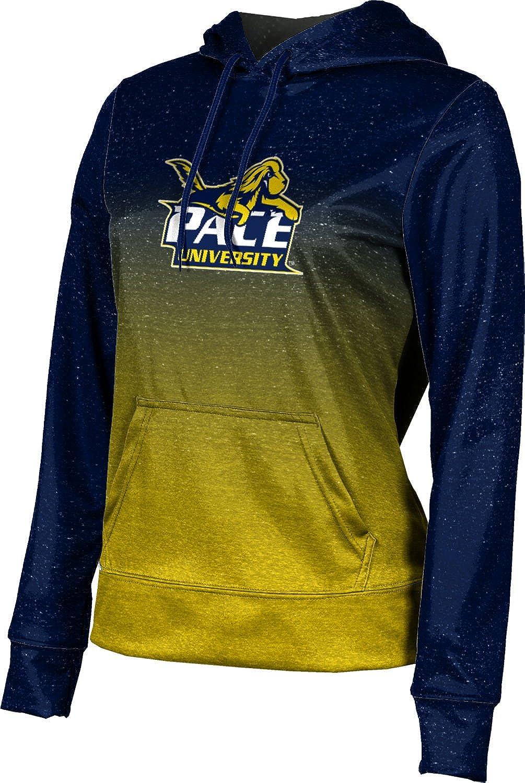 ProSphere Pace University Girls' Pullover Hoodie, School Spirit Sweatshirt (Ombre)