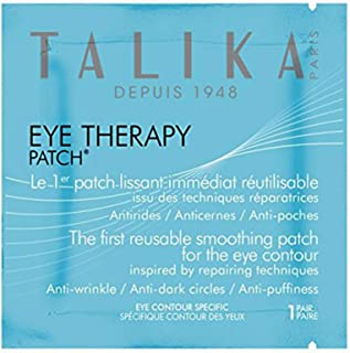 Eye Therapy Patch - Talika - Visibly Smoothing Eye Patch - Anti-dark circles and Anti-puffiness Patches - Reusable patch - Eye contour mask - Tired eye care - 1 Pair of Eye Patches