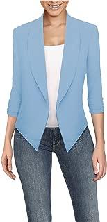 Best women's light blue blazer jacket Reviews
