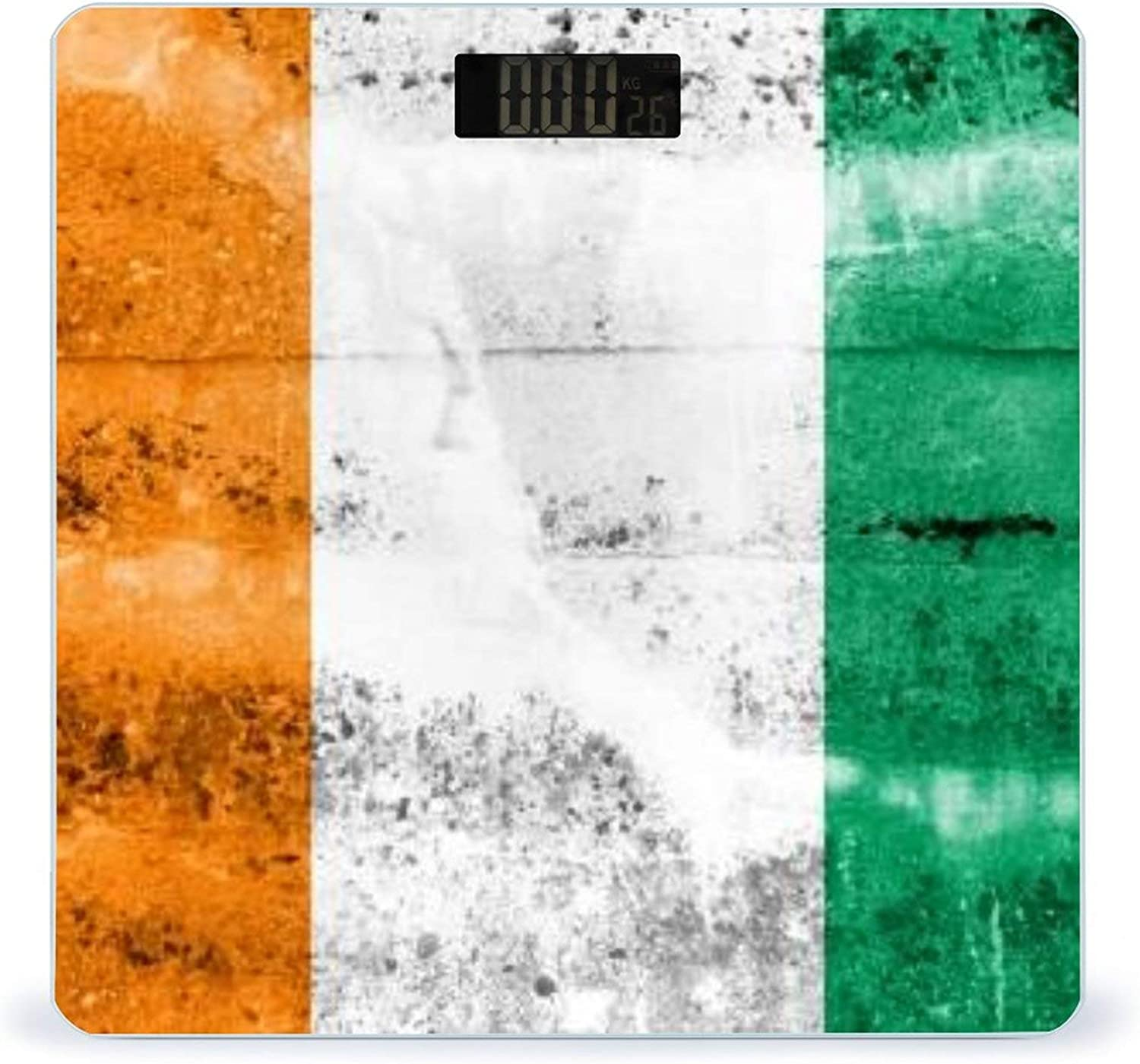 Ivory New sales Coast Flag Limited price sale Painted On Grunge Highly Smart Accurate Wall Fi