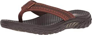 Skechers Men's Relaxed Fit-Reggae-Belano Flip-Flop