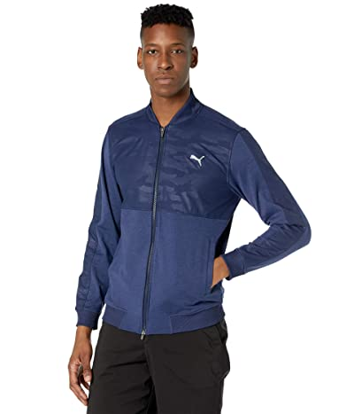 PUMA Golf Cloudspun Stealth Camo Jacket (Peacoat) Men