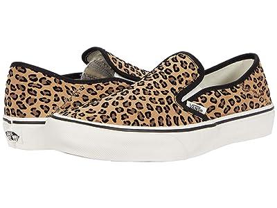 Vans Slip-On SF ((Mini Leopard) Suede/Marshmellow 2) Shoes