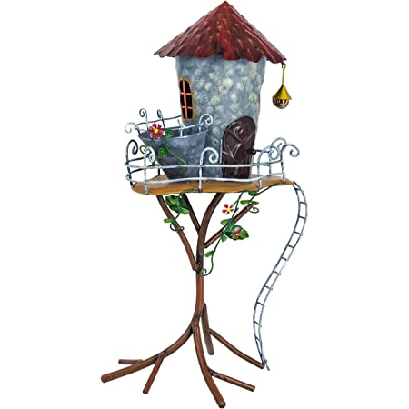 Fountasia Cute Fairy Kingdom Doors Metal Garden Ornament Decoration Magical Gift