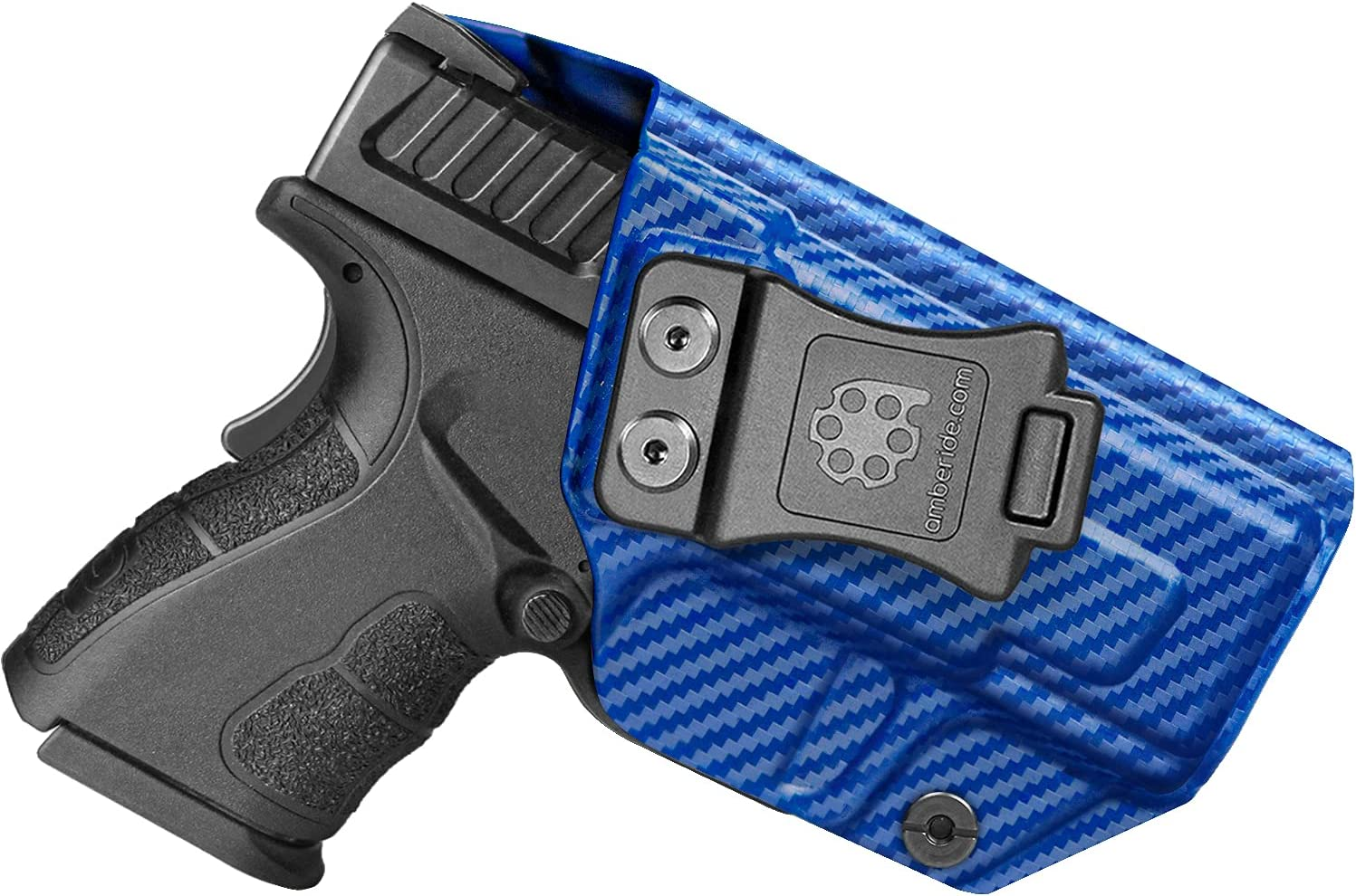 """Amberide IWB KYDEX Holster Fit: Springfield XD MOD.2-3"""" Sub-Compact 9MM"""