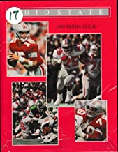 1989 Ohio State Buckeye Football Media Guide Carlos Snow/Greg Frey/Staysniak 10