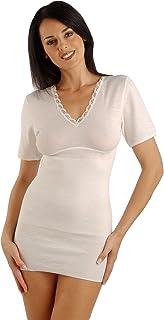 Relaxsan Ortopedica 4250 Maglia Termica T-Shirt Donna Mezza Manica Lana e Angora Terapia riscaldante