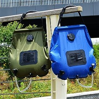 comprar comparacion CFtrum Bolsa Ducha Solar 20L PVC Plegable Portátil para Camping Excursión Al Aire Libre Color Negro
