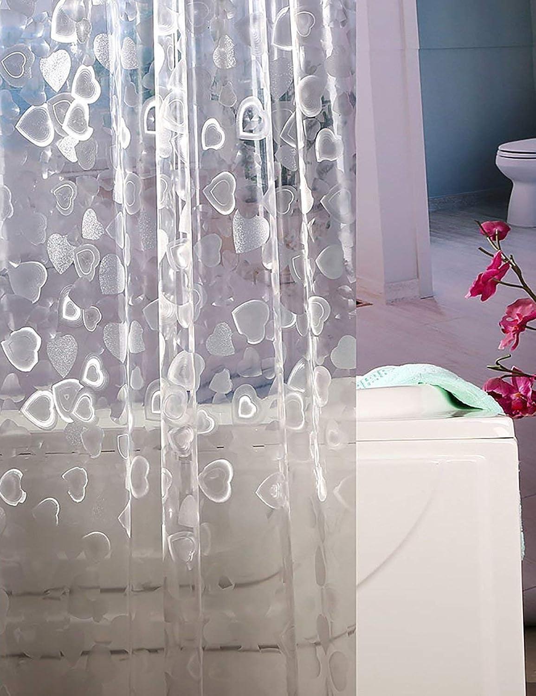 forma única FDCC Creative Mildewproof Simple Cortina de de de Ducha con Cortina de Ducha Impermeable Peva Cortina Opaca Fuera de Baos Hotel Rideau slo la Cortina de la Ducha bao (Tamao  180  180 cm)  Seleccione de las marcas más nuevas como