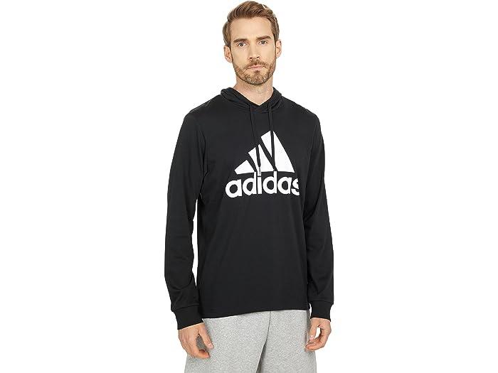 adidas Big Logo Single Jersey Pullover Hoodie | Zappos.com