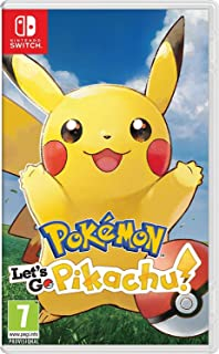 Pokemon Lets Go Pikachu (Nintendo Switch)
