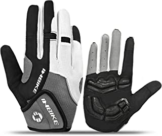 INBIKE Core Full Finger Unisex Road Bike Gloves with 5mm Pad IFF239