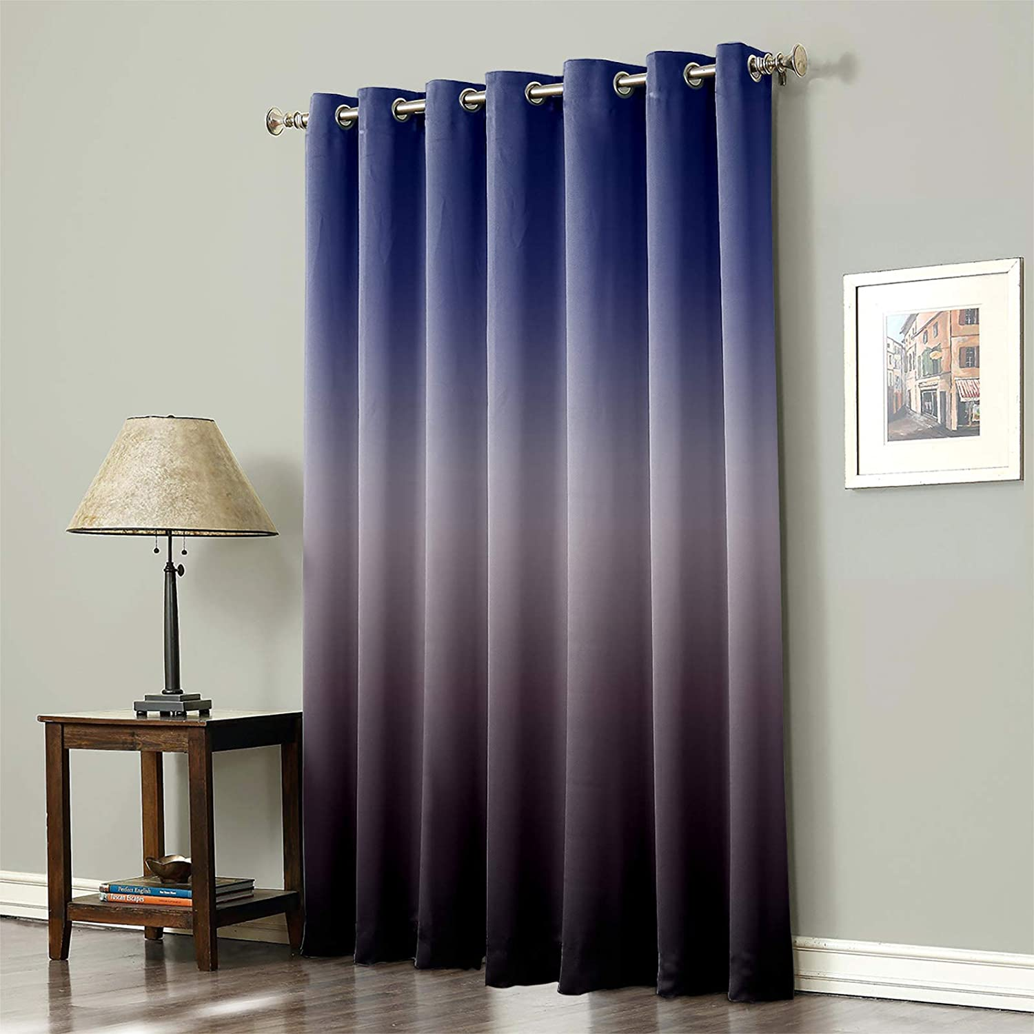 Thermal Insulated Blackout Curtain for Elegant Gradient Room- Bed Color Cheap mail order sales