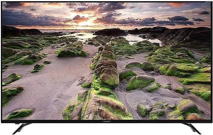 Televisore 70 pollici sharp aquos lc-70ui9362e tv 177,8 cm ultra hd smart tv wi-fi nero [classe energetica a]