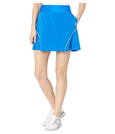 adidas Golf Perforated Color Pop Skort (Glory Blue) Women