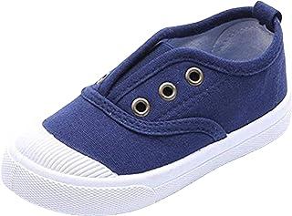 WUIWUIYU - Zapatillas deportivas para niño, unisex, diseño clásico