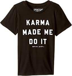 Spiritual Gangster Kids - Karma Made Me Tee (Toddler/Little Kids/Big Kids)