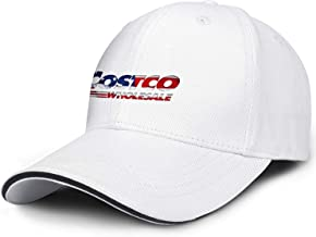 ZTUO Costco-Wholesale-3D-effect-American-flag-logo-stock-price Snapback Baseball Cap Funky Fishing Hat