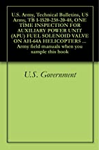 U.S. Army, Technical Bulletins, US Army, TB 1-1520-238-20-48, ONE TIME INSPECTION FOR AUXILIARY POWER UNIT (APU) FUEL SOLENOID VALVE ON AH-64A HELICOPTERS ... field manuals when you sample this book