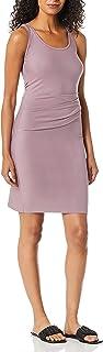 فستان ثيوري للنساء بدون أكمام برقبة دائرية