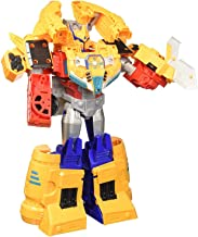 Transformers Toys Cyberverse Spark Armor Ark Power Optimus Prime Action Figure - Combines with Ark Power Vehicle to Power Up - for Kids Ages 6 & Up, 12