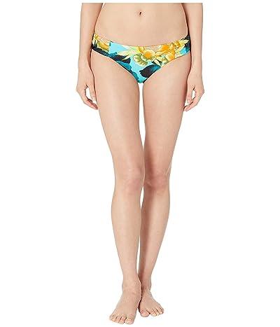 Lucky Brand Tropical Sunrise Side Shirred Bottoms (Multi) Women