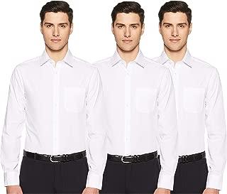 Marks & Spencer Men's Solid Slim Fit Formal Shirt