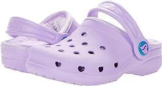 Skechers Kids Baby Girl's Cali Gear - Heart Charmer Faux Fur Lined Clog - 308015N (Toddler)