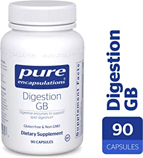 Pure Encapsulations - Digestion GB - Digestive Enzyme Formula with Extra Support for Gall Bladder Function and Fat Digestion* - 90 Capsules