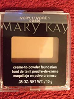 Mary Kay Creme to Powder Foundation Ivory 1 - Square Compact
