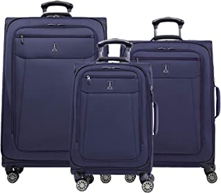 Travelpro Skywalk Limited 3 Piece Spinner Suitcase Set - Softside Expandable Travel Luggage with Spinning Wheels – Carry O...
