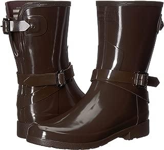 Best women's refined adjustable tall gloss rain boots Reviews