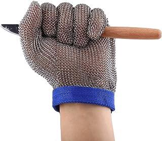 1pc de acero inoxidable 304 guante resistente a los cortes