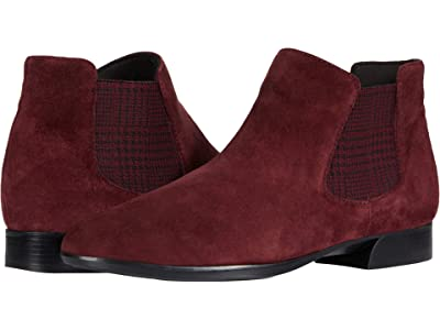 Munro Cate (Wine Suede/Houndstooth Gore) Women