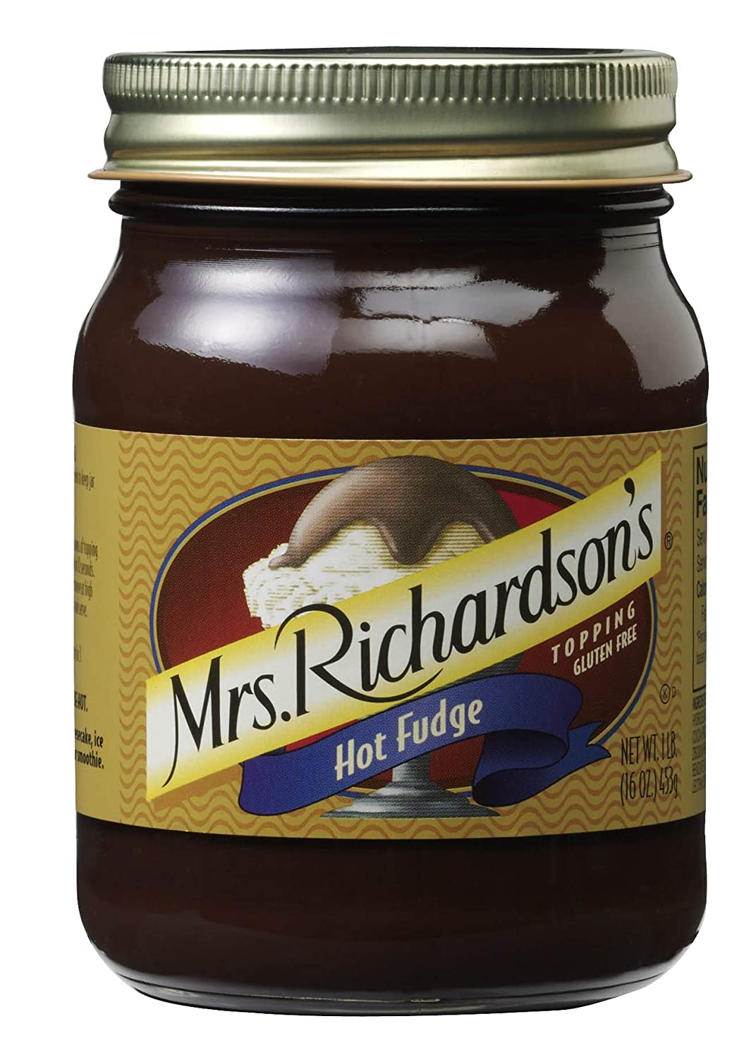 Mrs Richardsons Max 85% OFF Topping Fudge Sale item May Packaging Vary Hot