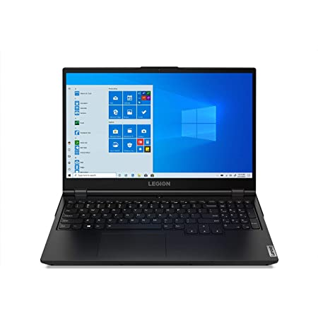 "Lenovo Legion 5 - Portátil Gaming 15.6"" FullHD 144Hz (Intel Core i7-10750H, 8GB RAM, 512GB SSD, GeForce GTX 1650-4GB, Windows 10 Home), Negro - Teclado QWERTY español"