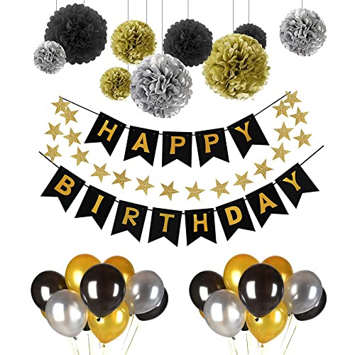Geburtstag Party Strings bunt Raum Deko Dekoration Damen und Herren 50