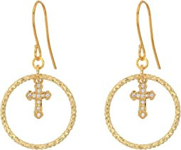 Vanessa Mooney - The Dina Cross Earrings